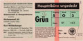 Boxing Collectibles:Memorabilia, 1966 Muhammad Ali vs. Karl Mildenberger On-Site Full Ticket - First Heavyweight Title Fight in Germany....
