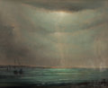 Maritime:Paintings, LÉON DABO (American, 1868-1960). Marine. Oil on canvas. 18 x22 inches (45.7 x 55.9 cm). Signed with monogram lower righ...