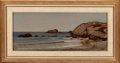 Paintings, ELIHU VEDDER (American, 1836-1923). Newport Beach and The Phorcydes (two works), circa 1864-68. Newport Beac... (Total: 2 Items)