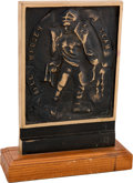Football Collectibles:Others, 1989 All Madden Team Trophy Presented to Leonard Marshall. ...