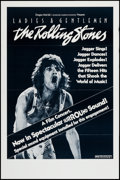 "Movie Posters:Rock and Roll, Ladies and Gentlemen: The Rolling Stones (Dragon Aire, 1973). One Sheet (25"" X 38"") Surround Sound Style. Rock and Roll.. ..."
