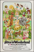 "Movie Posters:Adult, Alice in Wonderland (General National, 1976). One Sheet (27"" X 41""). Adult.. ..."