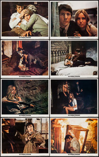 """Straw Dogs (Cinerama Releasing, 1972). Lobby Card Set of 8 (11"""" X 14""""), Uncut Pressbook (Multiple Pages, 9&quo..."""