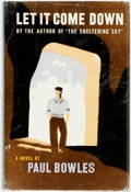 Books:Literature 1900-up, Paul Bowles. Let It Come Down. New York: Random House, [1952]. First edition. Publisher's cloth and original dust ja...