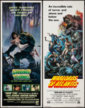 "Movie Posters:Horror, Swamp Thing & Other Lot (Embassy, 1982). Inserts (2) (14"" X 36""). Horror.. ... (Total: 2 Items)"