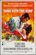 """Movie Posters:Academy Award Winners, Gone with the Wind (MGM, R-1974). One Sheet (27"""" X 41""""). AcademyAward Winners.. ..."""