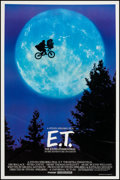 "Movie Posters:Science Fiction, E.T. The Extra-Terrestrial (Universal, 1982). One Sheet (26.75"" X40.25"") Bicycle Style. Science Fiction.. ..."