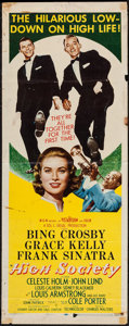 "Movie Posters:Musical, High Society (MGM, 1956). Insert (14"" X 36""). Musical.. ..."