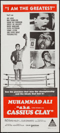 "Movie Posters:Sports, Muhammad Ali a.k.a. Cassius Clay (United Artists, 1970). Australian Daybill (13"" X 30""). Sports.. ..."