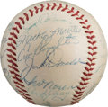 Autographs:Baseballs, 1954 New York Yankees Team Signed Baseball....