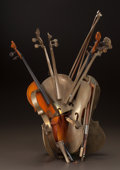 Post-War & Contemporary:Contemporary, ARMAN (French/American, 1928-2005). Untitled (Violin), 1990.Bronze and wood. 22 x 27 inches (55.9 x 68.6 cm). Ed. 2/5. ...
