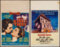 "Movie Posters:Adventure, The King's Thief & Others Lot (MGM, 1955). Window Cards (5)(14"" X 22"") & Trimmed Window Card (14"" X 17""). Adventure.. ...(Total: 6 Items)"