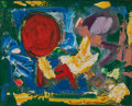 Paintings, HANS HOFMANN (American, 1880-1966). Red Sun, 1949. Oil on canvas. 24-1/8 x 29-3/4 inches (61.2 x 75.4 cm). Signed and da...