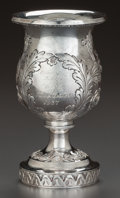 Silver Holloware, American:Cups, A BALTIMORE SILVER CO. SILVER GOBLET, Baltimore, Maryland, circa1937. Marks: (B-lion's head-S), STERLING, 925-1000, FINE...