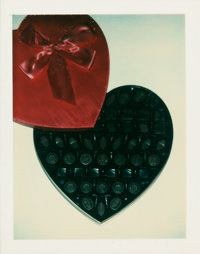 ANDY WARHOL (American, 1928-1987) Heart, circa 1970s Unique Polacolor Type 108 print 4-1/4 x 3-3/