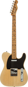 Musical Instruments:Electric Guitars, 1953 Fender Telecaster Blonde Solid Body Electric Guitar, Serial #2996....