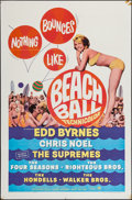 "Movie Posters:Rock and Roll, Beach Ball (Paramount, 1965). One Sheet (27"" X 41""). Rock andRoll.. ..."
