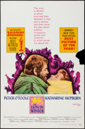"""Movie Posters:Drama, The Lion in Winter (Avco Embassy, 1968). One Sheet (27"""" X 41""""). Drama.. ..."""
