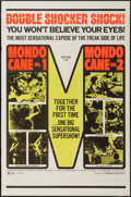 "Movie Posters:Exploitation, Mondo Cane #1/ Mondo Cane #2 Combo & Other Lot (Cinemation,R-1970). One Sheets (2) (27"" X 41""). Exploitation.. ... (Total: 2Items)"