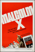 "Movie Posters:Documentary, Malcolm X (Warner Brothers, 1972). One Sheet (27"" X 41""), & Special Poster (25"" X 44""). Documentary.. ... (Total: 2 Items)"