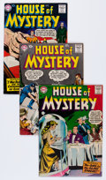 Silver Age (1956-1969):Horror, House of Mystery Group (DC, 1958-61) Condition: Average FN/VF....(Total: 10 Comic Books)