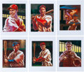 Baseball Collectibles:Others, 2013 Original Artwork by Pat David for Historic AutographsOriginals 1933 Edition, including Lombardi, Appling, McKechnie,Fal...