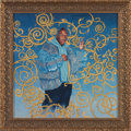 Post-War & Contemporary:Contemporary, KEHINDE WILEY (American, b. 1977). Passing/Posing, 2003.Pigment print with artist's custom frame. 23-3/4 x 23-3/4 inche...