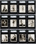"Non-Sport Cards:Sets, 1939 Carreras ""Glamour Girls of Stage and Films"" (Large) CompleteSet (54) - #2 on the SGC Set Registry. ..."