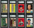 Baseball Cards:Lots, 1961 Topps Baseball SGC 96 Mint 9 Collection (34). ...