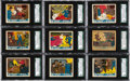"Non-Sport Cards:Sets, 1936 R61 ""Government Agents Vs Public Enemies"" SGC Complete Set(24). ..."