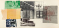 Prints:Contemporary, ROBERT RAUSCHENBERG (American, 1925-2008). 5:29 Bay Shore,1981. Lithograph in colors with chine collé. 45-1/8 x 93 inch...