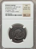Ancients:Roman Imperial, Ancients: Constantine I the Great, as Caesar (AD 306-307). BIfollis (8.81 gm). ...