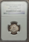 Mexico, Mexico: Philip V Real 1737 Mo-MF UNC Details (Surface Hairlines)NGC,...