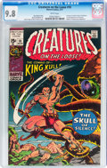 Bronze Age (1970-1979):Horror, Creatures on the Loose #10 (Marvel, 1971) CGC NM/MT 9.8 Whitepages....