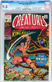 Creatures on the Loose #10 (Marvel, 1971) CGC NM/MT 9.8 White pages