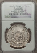 Mexico, Mexico: Charles III 8 Reales 1760 Mo-MM AU Details (SurfaceHairlines) NGC,...