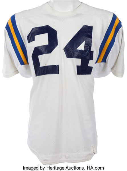 6db817b74 1977-80 Freeman McNeil Game Worn UCLA Bruins Jersey