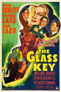 "The Glass Key (Paramount, 1942). One Sheet (27.25"" X 41"")"