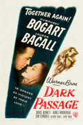 "Movie Posters:Film Noir, Dark Passage (Warner Brothers, 1947). One Sheet (27"" X 40.5"").. ..."