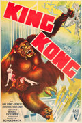 "Movie Posters:Horror, King Kong (RKO, R-1938). Spanish One Sheet (28.25"" X 42.5"").. ..."
