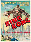 "Movie Posters:Horror, King Kong (Union Films Afrique, R-1950s). French North African TwoSheet (39 X 52.5"").. ..."