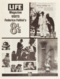 """Movie Posters:Foreign, 8½ (Embassy, 1963). Special LIFE Magazine Poster (30"""" X 40"""").. ..."""