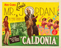 "Movie Posters:Musical, Caldonia (Astor Pictures, 1945). Half Sheet (22"" X 28"").. ..."