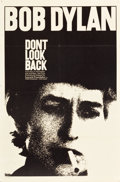 "Movie Posters:Rock and Roll, Don't Look Back (Leacock-Pennebaker, 1967). One Sheet (27"" X 41"").. ..."