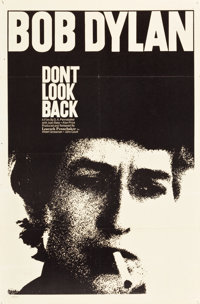 "Don't Look Back (Leacock-Pennebaker, 1967). One Sheet (27"" X 41"")"