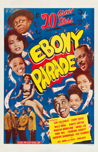 "Ebony Parade (Astor Pictures, 1947). One Sheet (27"" X 41"")"