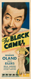 "Movie Posters:Mystery, The Black Camel (Fox, 1931). Insert (14"" X 36"").. ..."