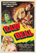 "Movie Posters:Film Noir, Raw Deal (Eagle Lion, 1948). One Sheet (27.5"" X 41"").. ..."