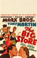 """Movie Posters:Comedy, The Big Store (MGM, 1941). Window Card (14"""" X 22"""").. ..."""