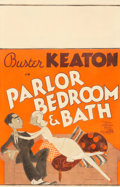 """Movie Posters:Comedy, Parlor, Bedroom and Bath (MGM, 1931). Window Card (14"""" X 22"""").Comedy.. ..."""